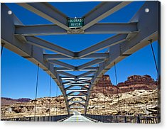 Bridge Across Colorado Acrylic Print by Scotts Scapes