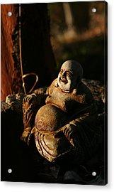 Buddha Of The Forest Acrylic Print by Lorraine Devon Wilke