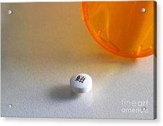 Bupropion Hydrochloride Acrylic Print by Photo Researchers, Inc.