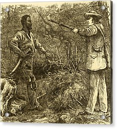 Capture Of Nat Turner, American Rebel Acrylic Print by Photo Researchers