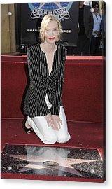 Cate Blanchett Wearing Armani Prive Acrylic Print by Everett