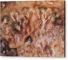 Cave Of The Hands, Argentina Acrylic Print by Javier Truebamsf