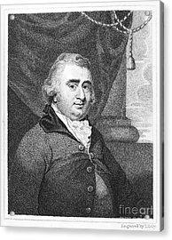 Charles Fox (1749-1806) Acrylic Print by Granger