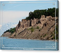 Chimney Bluffs On Lake Ontario Acrylic Print by Rose Santuci-Sofranko