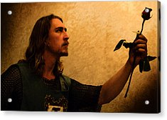 Chivalry Acrylic Print by Christopher Gaston
