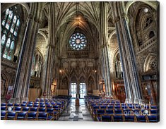 Church Of England Acrylic Print by Adrian Evans