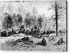Civil War: Spotsylvania Acrylic Print by Granger