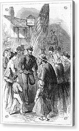 Civil War: Veteran, 1867 Acrylic Print by Granger