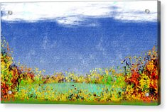 Contemplations Acrylic Print by Christopher Gaston