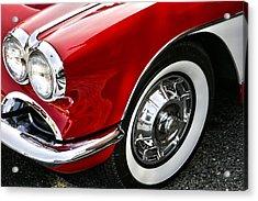 Corvette Beauty Acrylic Print by Bill Robinson