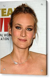 Diane Kruger At Arrivals For The Acrylic Print by Everett