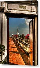 Door To Enlightenment Acrylic Print by Adrian Evans
