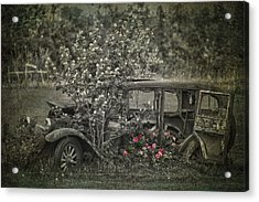 Driven To Find Love  Acrylic Print by Jerry Cordeiro
