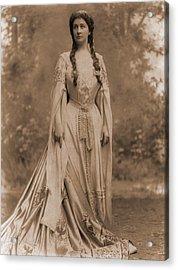 Emma Eames 1865-1952, American Soprano Acrylic Print by Everett