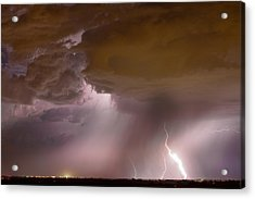 Energy Acrylic Print by James BO  Insogna