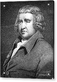 Erasmus Darwin, English Polymath Acrylic Print by Science Source