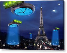 European Time Traveler Acrylic Print by Mike McGlothlen