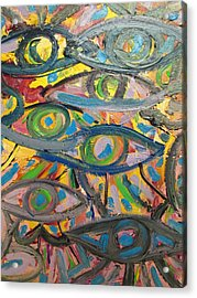 Eyes In Disguise Acrylic Print by Forrest Kelley