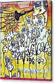 Fallen Angel Acrylic Print by Robert Wolverton Jr