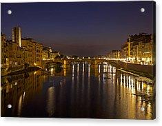 Florence - Ponte San Trinita Acrylic Print by Joana Kruse