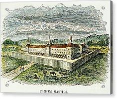 Fort Marietta, Ohio, C1790 Acrylic Print by Granger