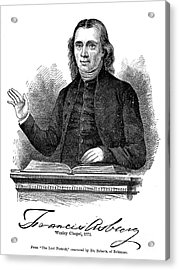 Francis Asbury (1745-1816) Acrylic Print by Granger