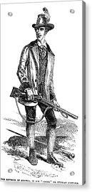 Francis Joseph I (1830-1916) Acrylic Print by Granger