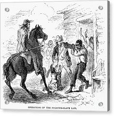 Fugitive Slave Act, 1850 Acrylic Print by Granger