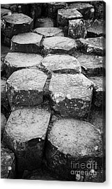 Giants Causeway Stones Northern Ireland Acrylic Print by Joe Fox