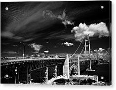 Golden Gate Acrylic Print by Ralf Kaiser