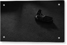 Grandpa's Slippers Acrylic Print by Tristan Bosworth