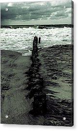 Groyne Acrylic Print by Joana Kruse