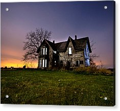 Haunted House Acrylic Print by Cale Best