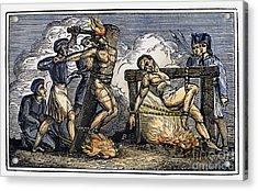 Heresy: Torture, C1550 Acrylic Print by Granger