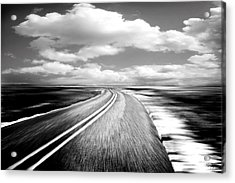 Highway Run Acrylic Print by Scott Pellegrin