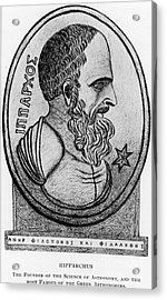 Hipparchus, Greek Astronomer Acrylic Print by Photo Researchers, Inc.