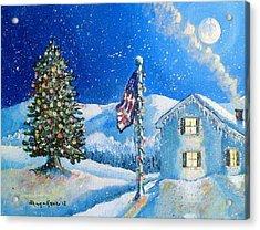 Home For The Holidays Acrylic Print by Shana Rowe Jackson