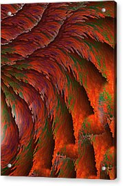Imagination Acrylic Print by Christopher Gaston