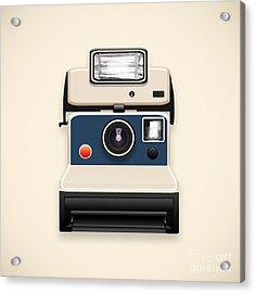 Instant Camera With A Blank Photo Acrylic Print by Setsiri Silapasuwanchai