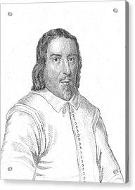 Jakob Bohme, German Philosopher Acrylic Print by Science Source