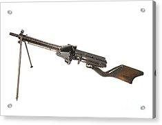 Japanese Type 11 Light Machine Gun Acrylic Print by Andrew Chittock
