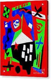 Jazz Art - 04 Acrylic Print by Gregory Dyer