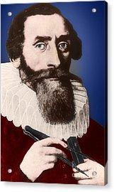 Johannes Kepler, German Astronomer Acrylic Print by Science Source