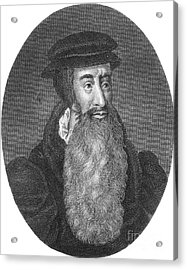 John Knox, Scottish Protestant Acrylic Print by Photo Researchers