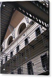 Kilmainham Gaol Acrylic Print by Arlene Carmel