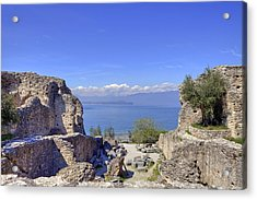 Lake Garda Acrylic Print by Joana Kruse