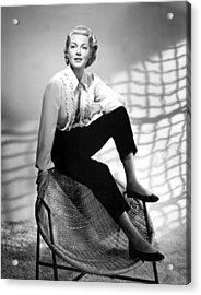 Lana Turner, 1950s Acrylic Print by Everett