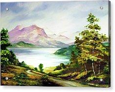 Landscape Acrylic Print by Seni