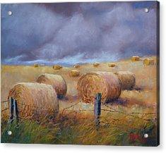 Last Crop Acrylic Print by Marcus Moller