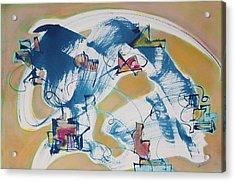 Letting Go Acrylic Print by Asha Carolyn Young